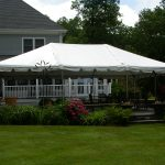20'x30' Frame Tent on Patio