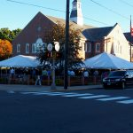 30'x30' Frame Tent and 20'x30' Frame Tent in Downtown Thomaston