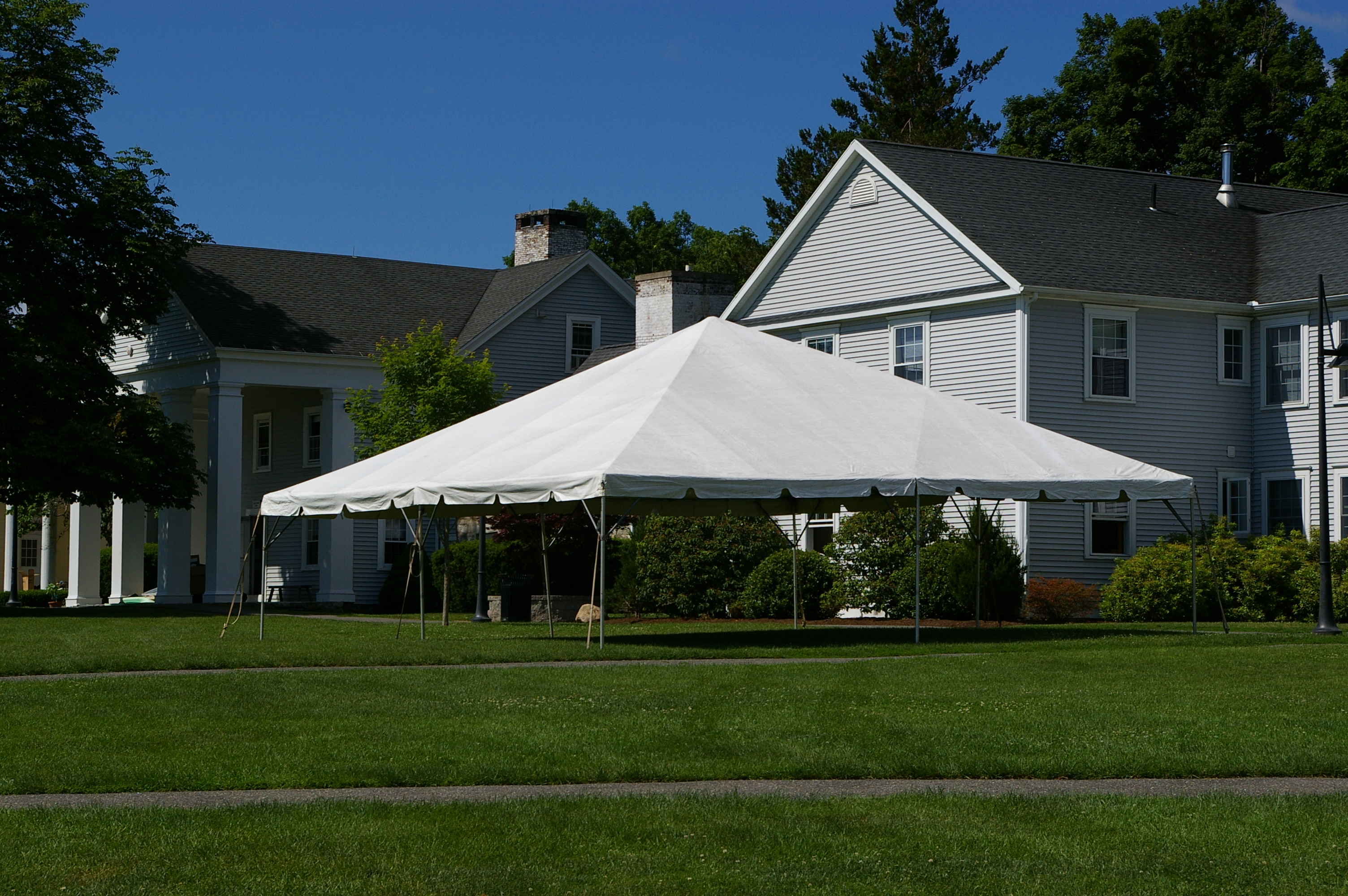 30 X 30 Frame Tent Taylor Rental Of Torrington