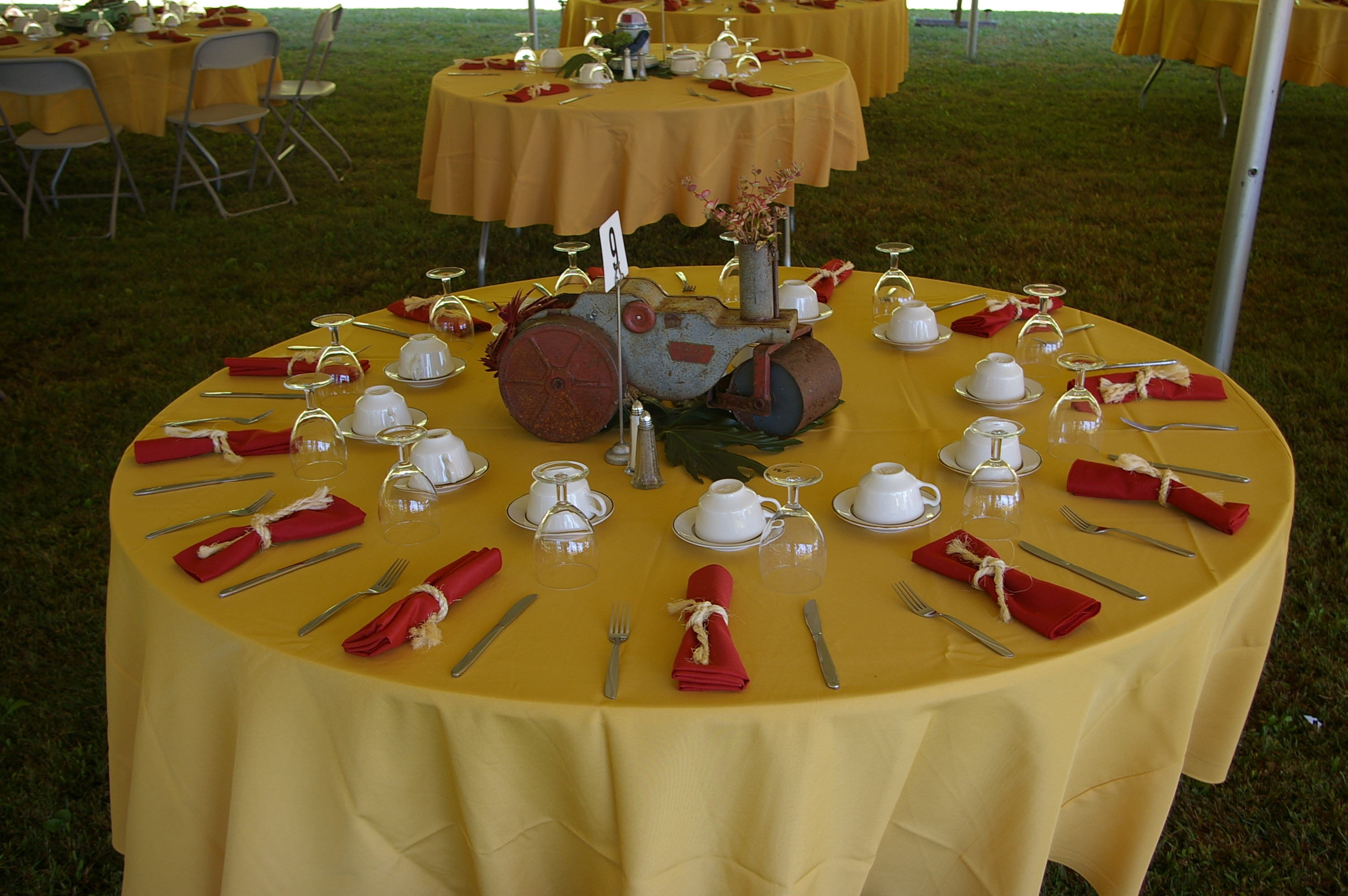 Buffet Table Setting Images - Table Decoration Ideas