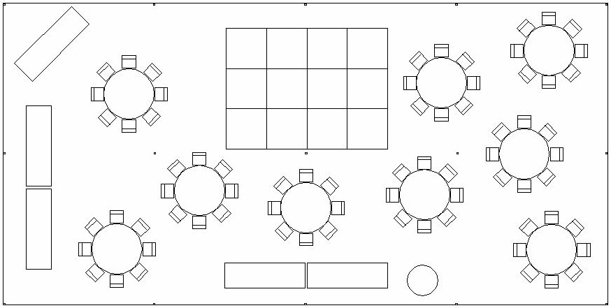 Download free software tent layout planner tool for Wedding tent layout tool