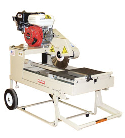 wet saw rental. brick and block saws work like wet tile or table saws, with a movable platform that one pushes through the blade your rental price includes use of saw
