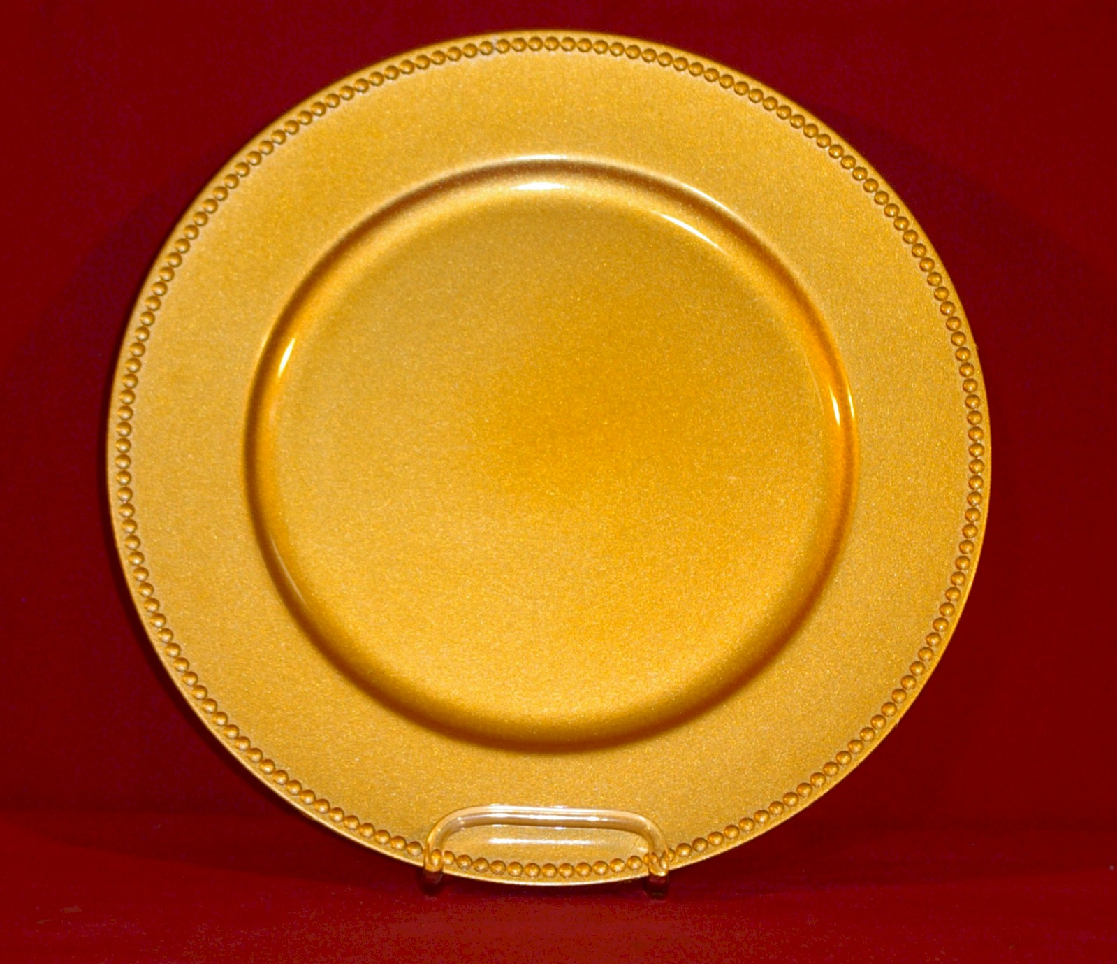 Charger Plate Gold Taylor Rental Of Torrington