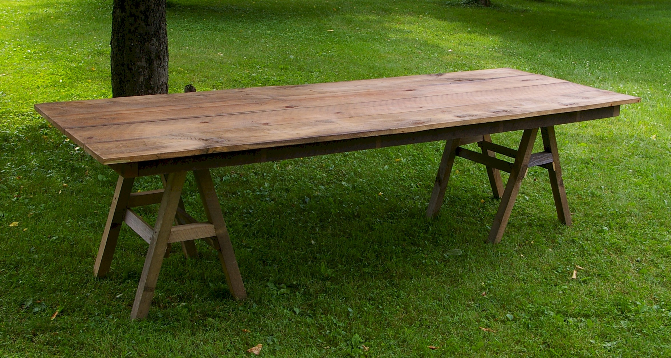 Rustic Wooden Farm Table Taylor Rental Of Torrington