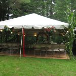 20x Frame Tent for Ceremony and Dancing