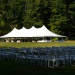 40x100 with Ceremony Chairs