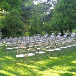 Folding Chairs for Ceremony