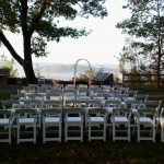 White Party Chairs for Ceremony